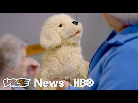 Robotic Pets Are Helping Dementia Patients (HBO)