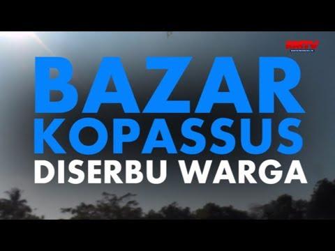 Bazar Kopassus Diserbu Warga