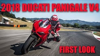 5. 2018 Ducati Panigale V4 at the 2017 EICMA Show