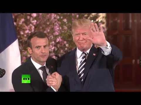 Ongoing bromance: 'Special relationship' between Trump & Macron seen in every gesture