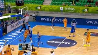 Dunk of the Game V. Kravtsov UKR-ISR EuroBasket 2013