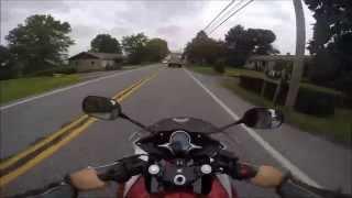 4. 2012 Honda CBR250 super fast test ride review