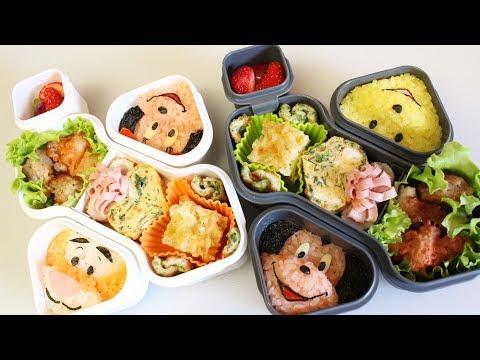 弁当 - OXO(オクソー)のお弁当箱で子供達とピクニック! ...の予定が、ちょい強風で断念(・ε・` せっかくだから家の中でシートを広げて(無理やり)お弁当タイム(笑)...