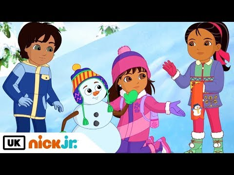 Dora and Friends | Shivers The Snowman | Nick Jr. UK