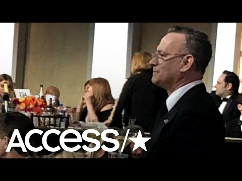 Tom Hanks Was The Ultimate Bartender At The 2018 Golden Globes | Access