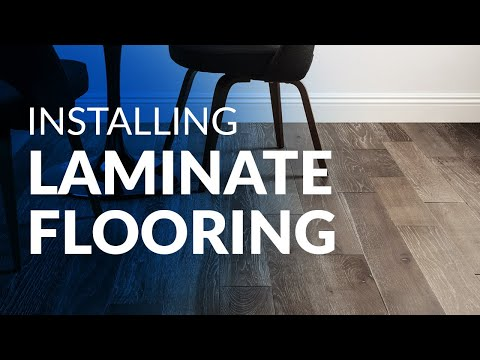 install - A video step by step guide to installing laminate flooring. Everything you need to know about how to install laminate floors. Presented by BuildDirect. http:...