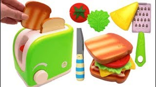 Magic Toy Toaster Pretend Play Learn Colors