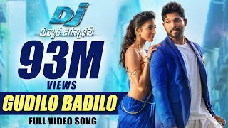 Video DJ Duvvada Jagannadham Video Songs - Gudilo Badilo Full Video Song -  Allu Arjun, Pooja Hegde MP3, 3GP, MP4, WEBM, AVI, FLV Mei 2018