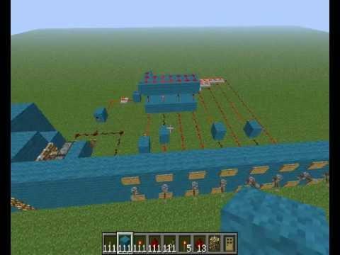 minecraft şifreli kapı yapımı ve mantığı