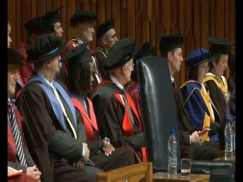 University of London International Programmes 2011 Graduation Ceremony, at the Barbican Centre