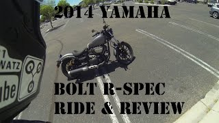 1. 2014 Yamaha Bolt R Spec Ride and Review - Yamaha Bolt R Spec