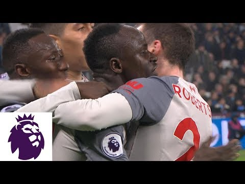 Missed Offside Call Leads To Liverpool Goal Against West Ham | Premier League | NBC Sports