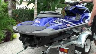 8. Yamaha FZR Riva Thru Hull system Riva HKS BOV
