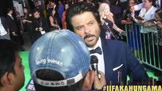 At the green carpet of IIFA New York, Bollywood Hungama spoke to Anil Kapoor and he opened up about 'Mubarakan'. He says he is really excited for his upcoming film and also spoke about America. He also talks about Sonam Kapoor and Kareena Kapoor Khan Starrer 'Veere Di Wedding'. Must Watch!Report: Faridoon ShahryarVideo Courtesy: Farrukh JilaniWatch more Exclusive Celebrity Interviews right here http://www.bollywoodhungama.com/Like BollywoodHungama on Facebook:https://www.facebook.com/bollywoodhungamacomFollow BollywoodHungama on Twitter:https://twitter.com/BollyhungamaCircle BollywoodHungama on G+:http://bit.ly/1uV6Qba