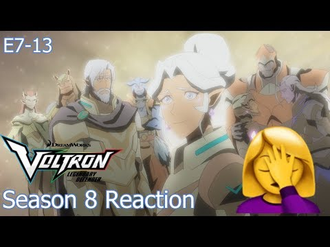 Voltron Season 8 Reaction Episodes 7-13 [Spoilers]
