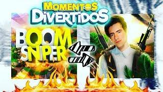 TheDonato y BoomSniper MOMENTOS DIVERTIDOS EN DIRECTO FREE FIRE