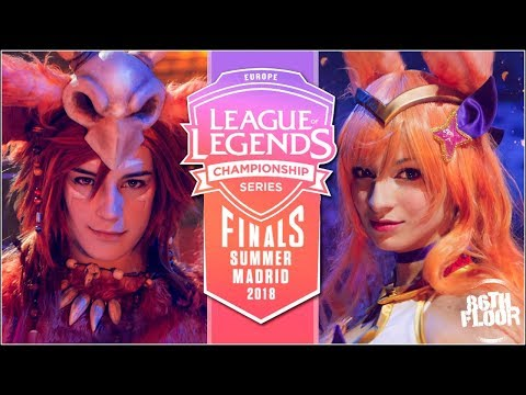 League of Legends EU LSC Madrid Finals 2018 Cosplay Music Video