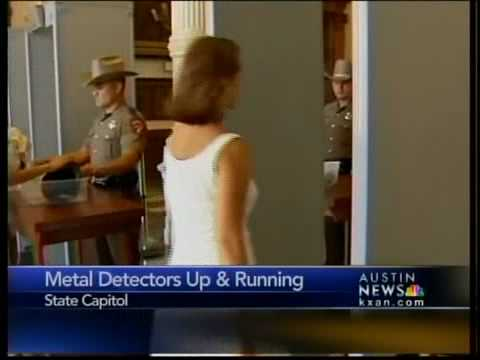 Metal detectors now in operation