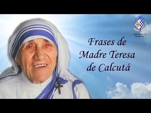 Frases De Madre Teresa De Calcutá Católico On