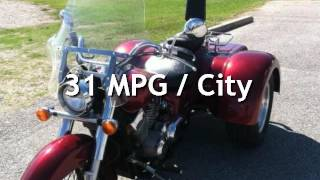 10. 2005 Honda Shadow AERO MOTOR TRIKE for sale in Onalaska, TX