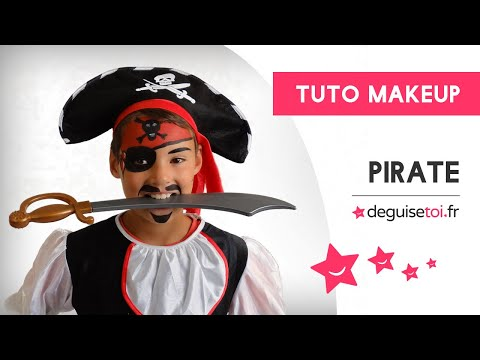 Tutoriel maquillage de pirate