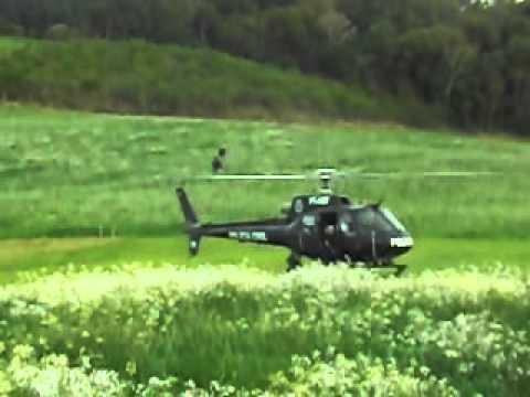 Buscas com helicóptero da Polícia Civil em Ibicaré