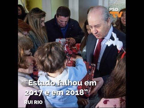 """Rui Rio: """"Estado falhou em 2017 e em 2018"""""""