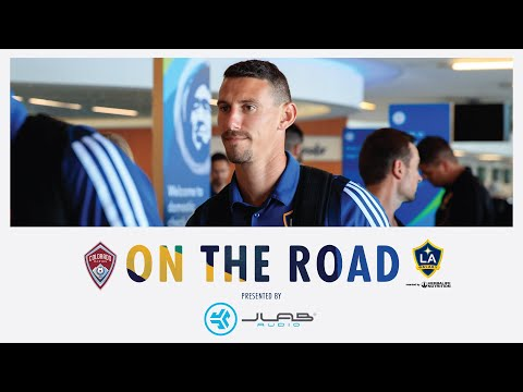 Video: LA Galaxy jet for midweek match at Colorado Rapids | On the Road pres. by JLab Audio