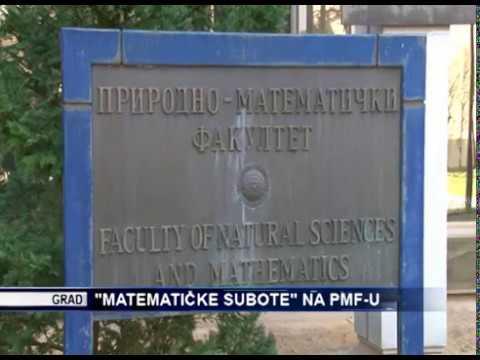 Математичке суботе на ПМФ-у