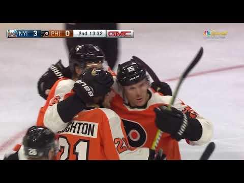 Video: New York Islanders vs Philadelphia Flyers   NHL   OCT-27-2018   13:00 EST