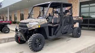 1. 2019 Polaris Ranger Crew XP 1000 EPS Back Country Limited Edition Camo