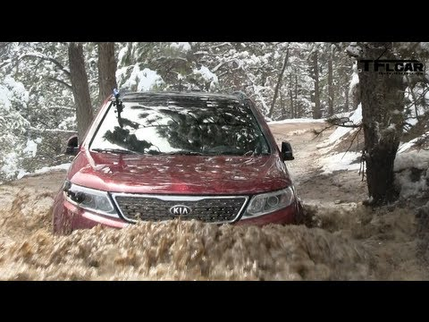 2014 KIA Sorento Muddy Off-Road AWD Review (Part 1)
