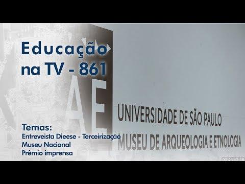 Entrevista DIEESE - Terceirização /  Museu Nacional / Prêmio imprensa