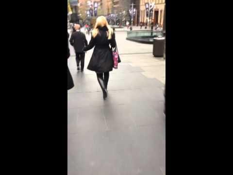 Boots gloves walk