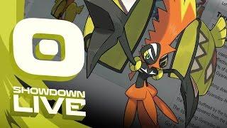 Pokemon Sun and Moon! Showdown Live: Enter Tapu Koko - Tapu Koko Showcase! by PokeaimMD