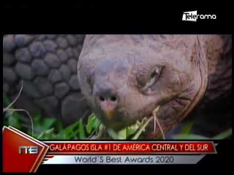 Galápagos Isla #1 de América Central y del Sur Vorld's Best Awards 2020