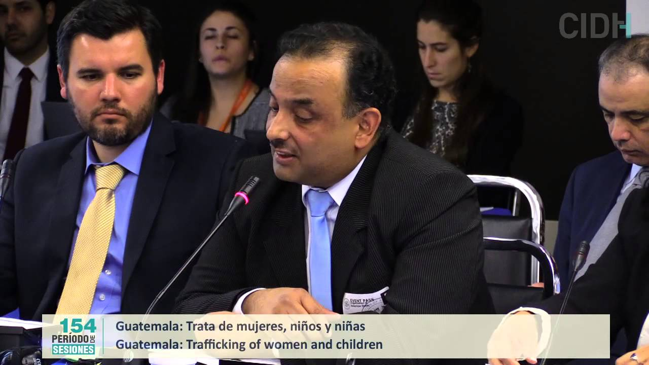 Denuncias de trata de mujeres, ni�as y ni�os en Guatemala