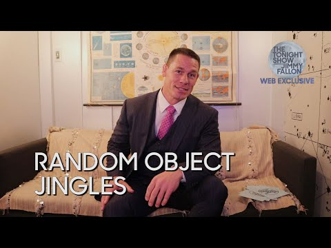 Random Object Jingles with John Cena