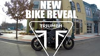 8. NEW BIKE REVEAL! Triumph Speed Triple 1050