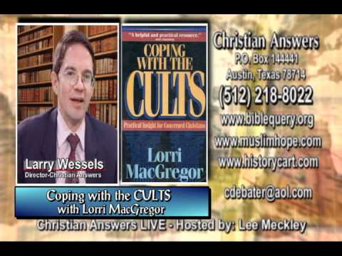 """COPING WITH THE CULTS"" & ""WHAT ARE THEY?"" WITH FORMER JEHOVAH'S WITNESS LORRI MACGREGOR"