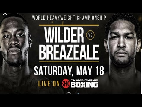 Deontay Wilder Vs Dominic Breazeale Live Coverage !!