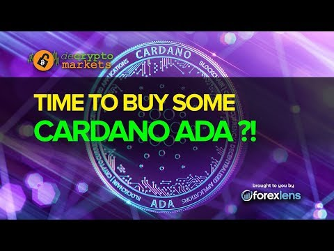 TIME TO BUY SOME CARDANO ADA ?!
