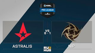 NiP vs Astralis, game 1