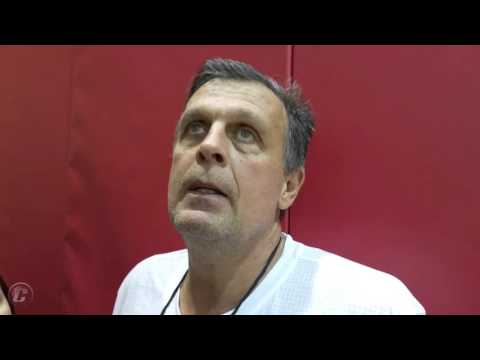 Kevin McHale on Clint Capela and Day 2 of Camp