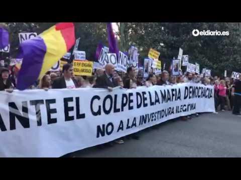 Cabeza de la marcha »Rodea el Congreso«