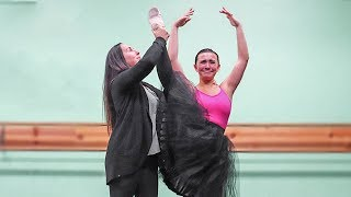 Ex-Dancer Tries Ballet For 1st Time in a Year