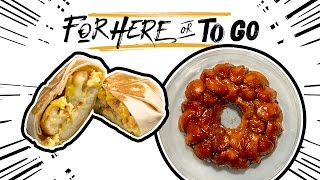 """Episode 5 of """"For Here or To Go"""" will show you two ways to hack Taco Bell's Cinnabon Delights. New episodes every Thursday. View full recipes: http://ta.co/FHOTG5SUBSCRIBE to Taco Bell: http://bit.ly/2dkMX81More about The Taco Bell Clip Show:Every day we see Taco Bell fans creating amazing content online. So, we decided to share it with the world in our YouTube series, The #TacoBellClipShow.Connect with Taco Bell Online:Visit the Taco Bell WEBSITE: http://bit.ly/2d9aD1mLike Taco Bell on FACEBOOK: http://bit.ly/2dScghgFollow Taco Bell on TWITTER: http://bit.ly/2dQANEwFollow Taco Bell on INSTAGRAM: http://bit.ly/2dABLG2Add Taco Bell on SNAPCHAT: http://bit.ly/2cXAPxwDownload The Taco Bell Mobile Ordering App: http://bit.ly/2dyq97wAbout Taco Bell:Taco Bell is the nation's leading Mexican-inspired quick service restaurant. Taco Bell serves made to order and customizable tacos, burritos, and specialties such as the exclusive Doritos® Locos Tacos and lower calorie Fresco Menu. The company encourages customers to """"Live Más,"""" both through its food and in ways such as its Feed The Beat® music program and its nonprofit organization, the Taco Bell Foundation™. Taco Bell has 7,000 restaurants across the United States that proudly serve more than 42 million customers every week.Visit Taco Bell's Flagship Restaurant On The Las Vegas Strip  Taco Bellhttps://youtu.be/cGSjNmrQLgshttps://www.youtube.com/c/TacoBell"""