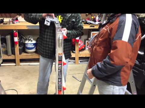 little giant ladders - We reviewed the famous Little Giant Ladder Xtreme. Check out the full review http://professional-power-tool-guide.com/2012/02/giant-ladder-xtreme/