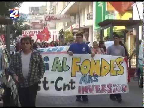 Varios sindicatos realizaron marcha en Paysandú