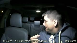 Dwóch Sebixów vs taksówkarz! Dramatyczne nagranie z napadu w Warszawie!